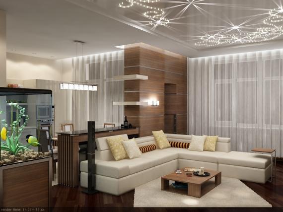 Фото дизайна 3 комнатной квартиры